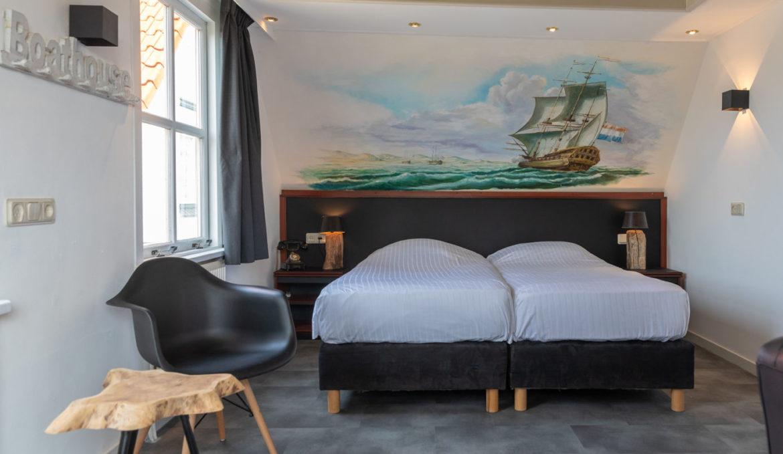 hotel kamer Texel - 3 persoons kamer