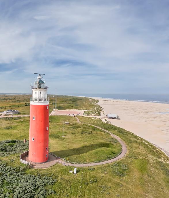 Vuurtoren Texel activiteiten op eiland