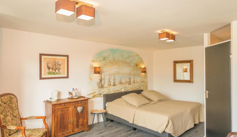 Hotel kamer Den Hoorn